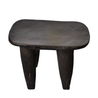 1990s Vintage African Senufo Stool For Sale