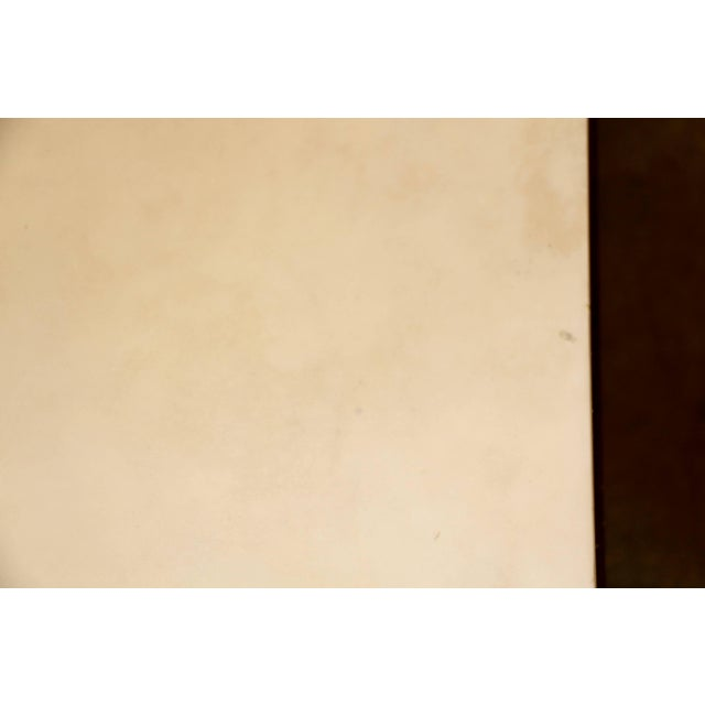 Modern Beautiful Parchment Top Table by Christopher Kennedy For Sale - Image 3 of 10