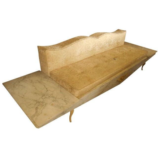 Hollywood Regency-Style Platform Sofa - Image 1 of 8