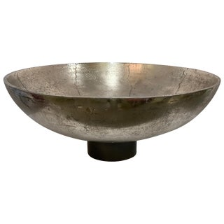 Silvered Centerpiece Bowl For Sale