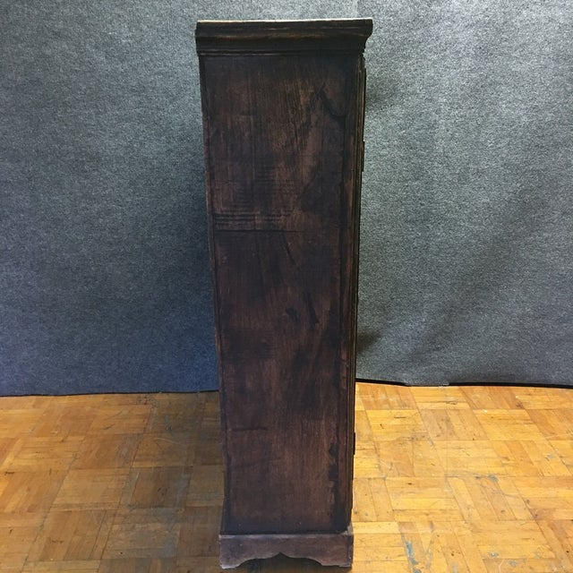 Refinished Antique Wooden Armoire - Image 9 of 10