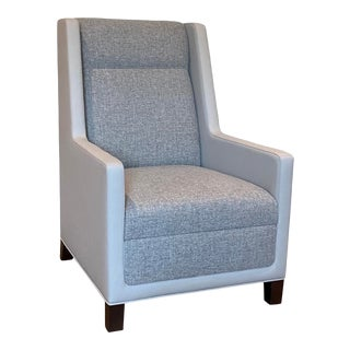 Contemporary Wingback Chair For Sale