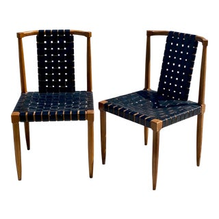 Side Chairs in the Style of RobsJohn-Gibbings - a Pair For Sale
