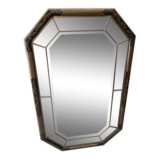 1970s Maitland Smith Chinoiserie Mirror For Sale