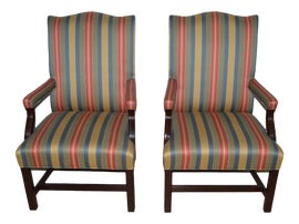 Image of Hancock and Moore Accent Chairs