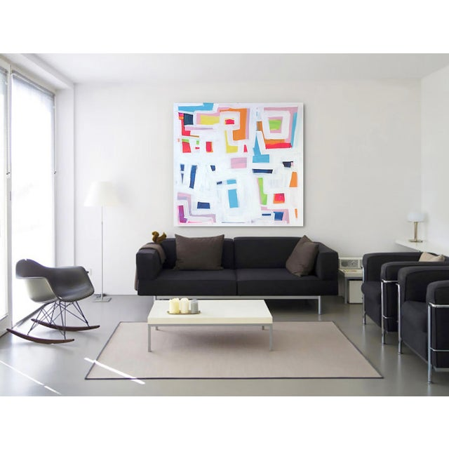 'P-TOWN FUNK' Original Abstract Painting - Image 8 of 8