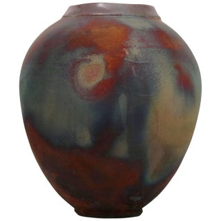 Iridescent Diminutive Ceramic Vase