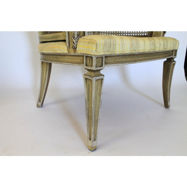 Caned Barrel Chairs - A Pair - Image 9 of 11