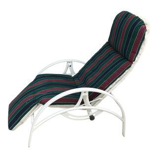 Vintage Homecrest Zero Gravity Lounge Chair For Sale