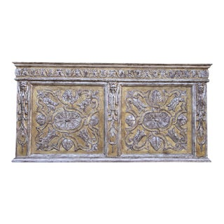 19th Century Carved Italian Panel