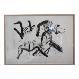 "Willem De Kooning Lithograph ""Woman on Clearwater Beach"" For Sale"