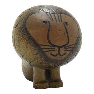 Vintage Lisa Larson Ceramic Lion For Sale