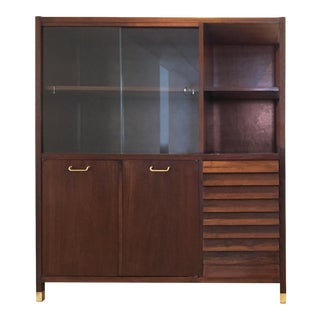 Mid-Century American of Martinsville Display Cabinet For Sale