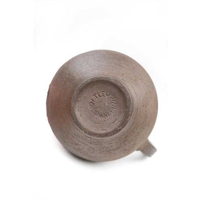 Clay Danish Modern Ditlev Ceramic Tea Pot For Sale - Image 7 of 8