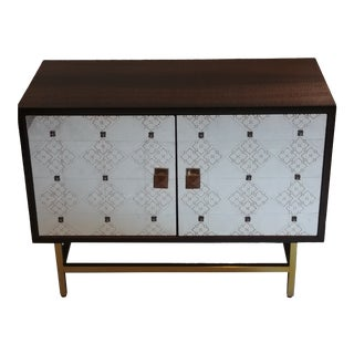 Mid-Century Style Adrian End Cabinet by Resource Decor For Sale