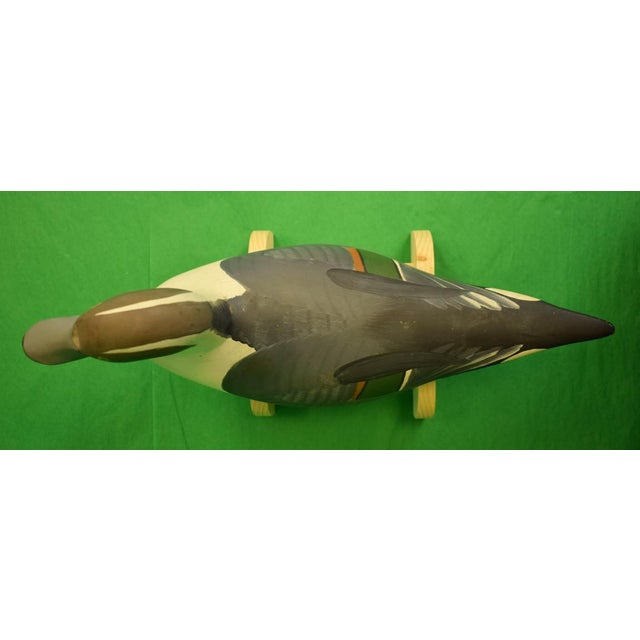 1987 Vintage Capt. Harry Jobes Pintail Duck Decoy For Sale - Image 4 of 7