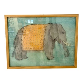 Mary Maguire Contemporary Elephant Print For Sale