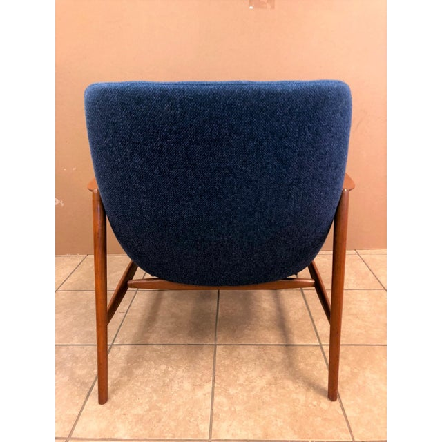 Danish Mid-Century Modern Lounge Chair For Sale - Image 4 of 8