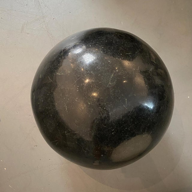 2000 - 2009 Marble Sphere Black X X L For Sale - Image 5 of 5