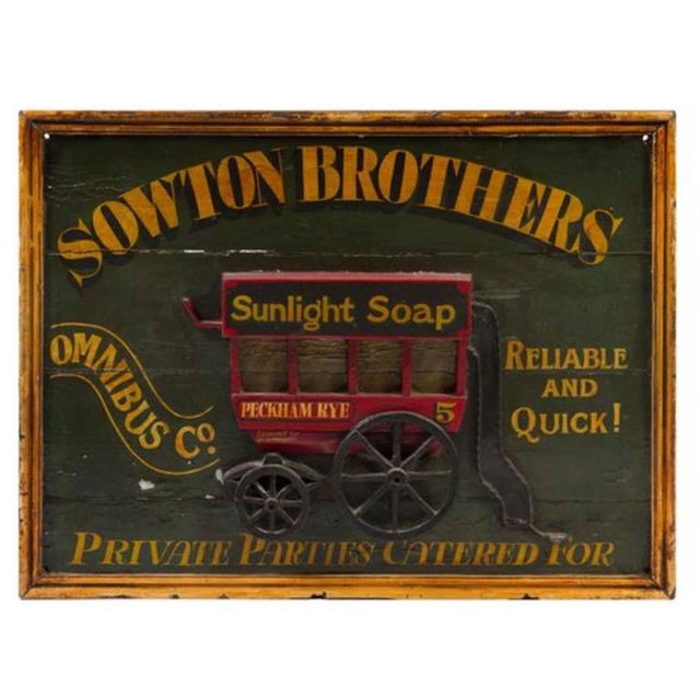 English Traditional 19th Century English Trade Sign For Sale - Image 3 of 3