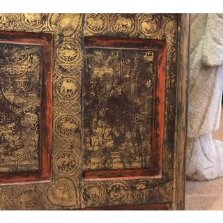 19th Century Antique Thai Gilt Decorated Architectural Panel Preview