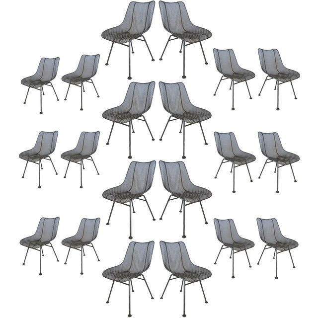 Large Vintage Russell Woodard Sculptura Chairs, Set of 20 (Priced Individually) For Sale