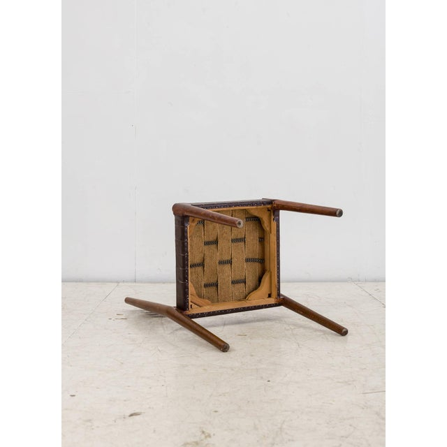 Brown Palle Suenson Chair, Denmark, 1940s For Sale - Image 8 of 8