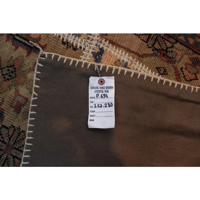 Anatolian Patchwork Rug - 9′4″ × 11′10″ For Sale In San Diego - Image 6 of 6