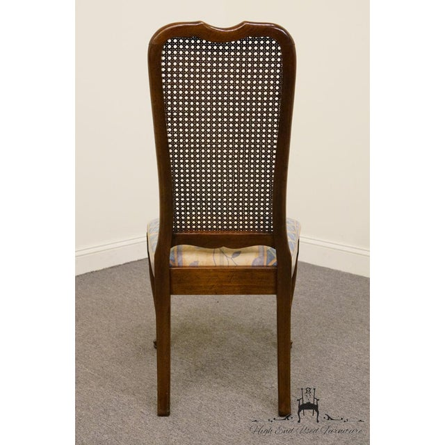 Late 20th Century Vintage Davis Cabinet Co. Cherry Dining Chair For Sale In Kansas City - Image 6 of 8
