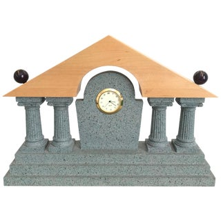 Postmodern Mantel Clock Style of Michael Graves For Sale