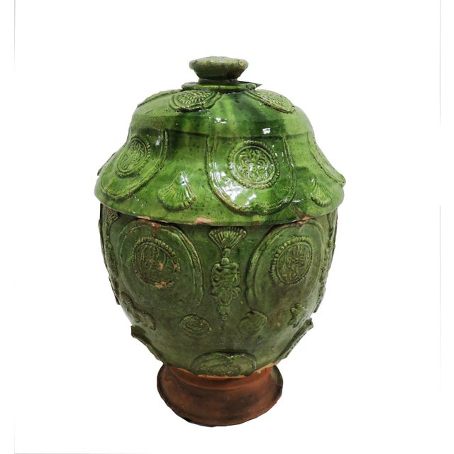 Late 19th Century Antique Chinese Ginger Jar For Sale - Image 5 of 5