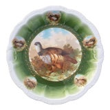 Image of Antique Game Bird Bavaria Porcelain Wall Plate For Sale