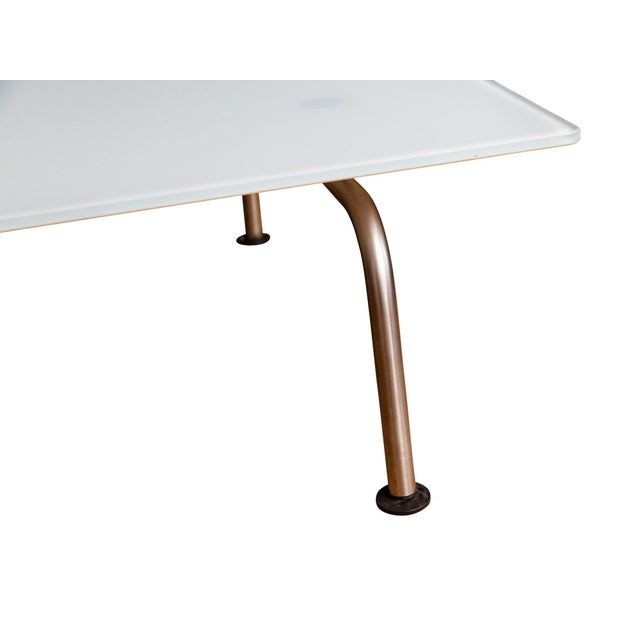 Fritz Hansen Murano Glass Coffee Table by Vico Magistretti for Fritz Hansen For Sale - Image 4 of 7