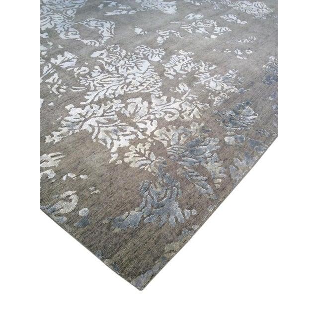 Pasargad Modern Silk & Wool Rug - 8′ × 9′8″ - Image 2 of 3