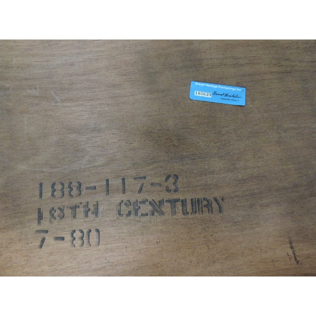 Drexel Heritage Butler's Table For Sale In Tampa - Image 6 of 6