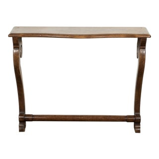 19th Century French Empire Period Solid Walnut Console For Sale