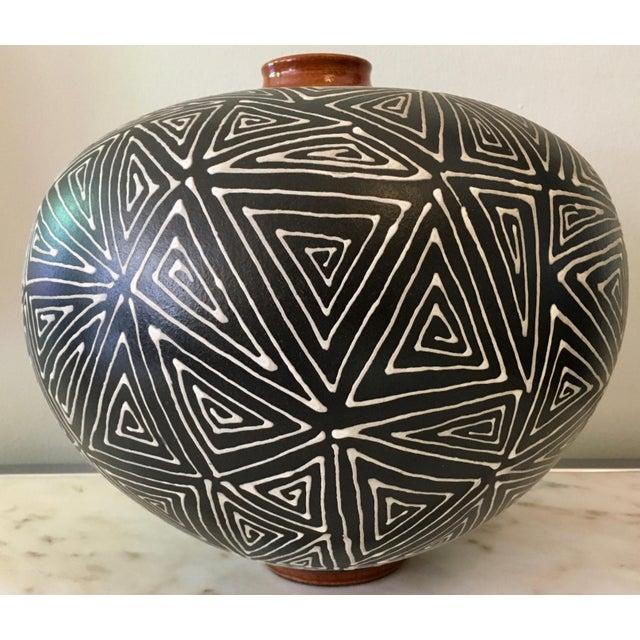 Mid-Century Studio Pottery Vase - Image 2 of 6
