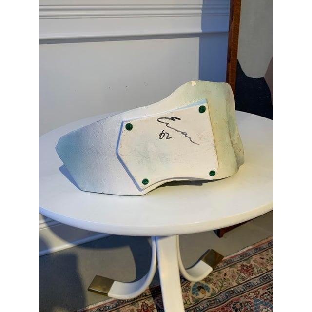 Signed Tony Evans Raku Sculptural Vase For Sale In Detroit - Image 6 of 7