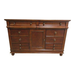 Bernhardt Old World Lowboy Dresser For Sale