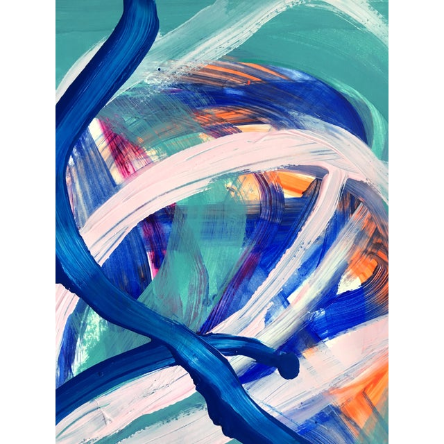 Abstract No. 344 Jessalin Beutler Original Painting For Sale - Image 3 of 4