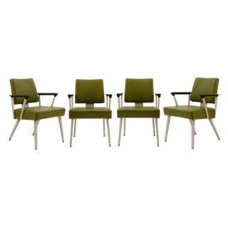 Set of 4 Goodform 300 Series Armchairs Circa 1960s