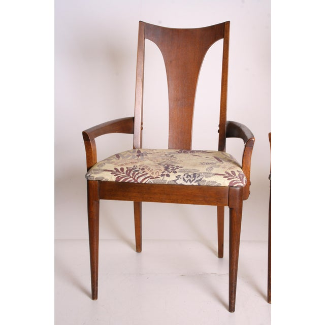 Mid Century Modern Broyhill Brasilia Dining Chairs - A Pair - Image 3 of 11