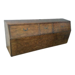 19th Century Campaign Henredon Artefacts King Headboard For Sale