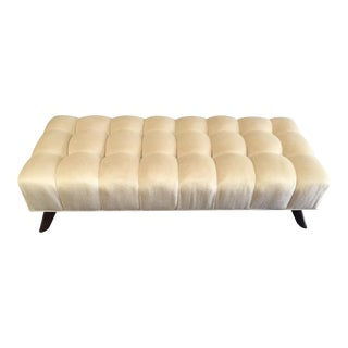 William Haines Tufted Valentine Bench