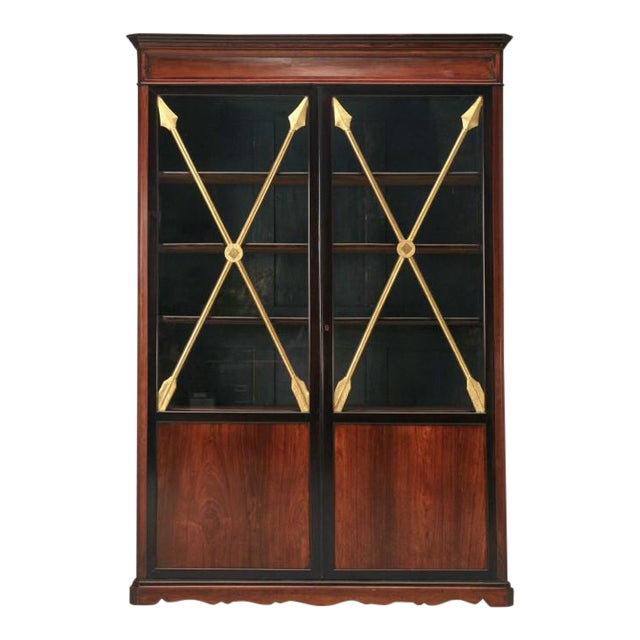 Antique French Directoire Cabinet w/ Arrows For Sale