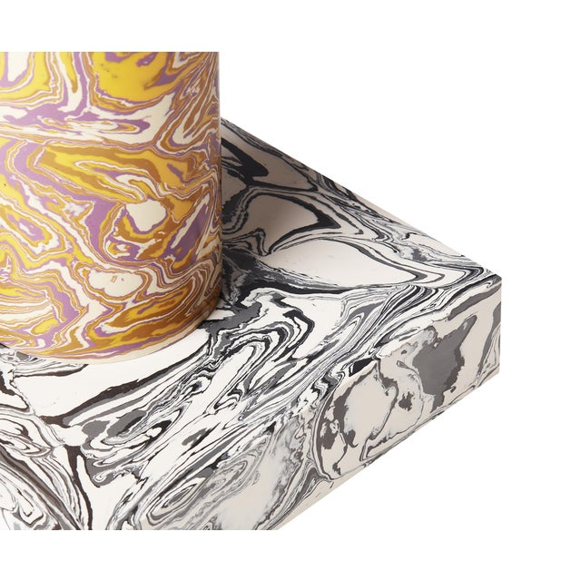 Not Yet Made - Made To Order Tom Dixon Swirl Table Cone For Sale - Image 5 of 8