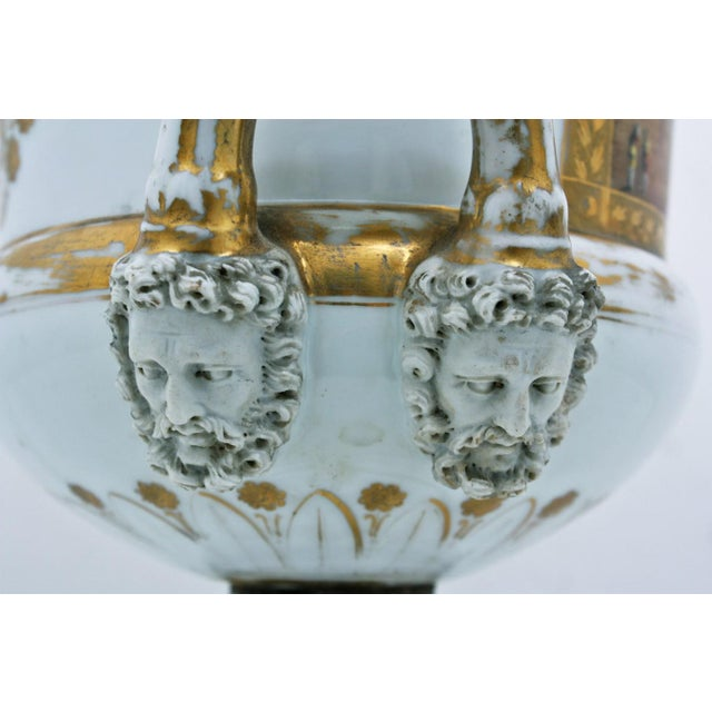 Mid 19th Century French Large Paris Porcelain Urn For Sale In San Francisco - Image 6 of 9