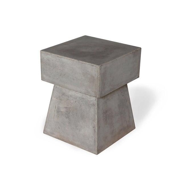 Dark Gray Cindy Stool, Dark Grey For Sale - Image 8 of 8