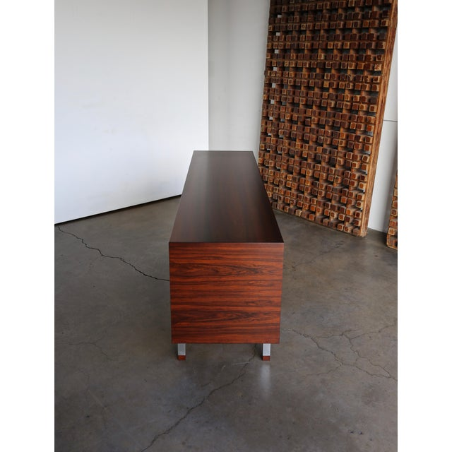 Hans Wegner Rosewood 'President' Cabinet, 1965 For Sale - Image 10 of 13
