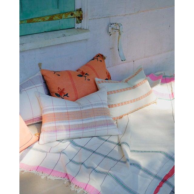 Contemporary Razia Organic Handwoven Pillow Cover For Sale - Image 3 of 6